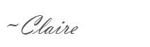Claire Signature