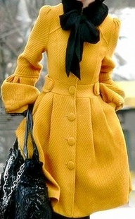 Bow Coat - Perfect