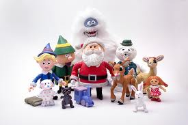 Misfit Toys with Santa