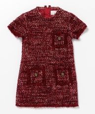 tweed lanvin girl dress