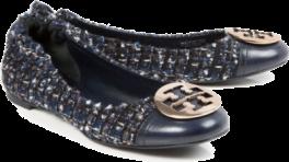tweed tory burch heels