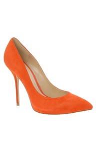 BC - Bright Orange Heels
