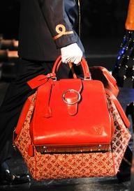 BC - Louis Vuitton Fall 2012 bright red handbag