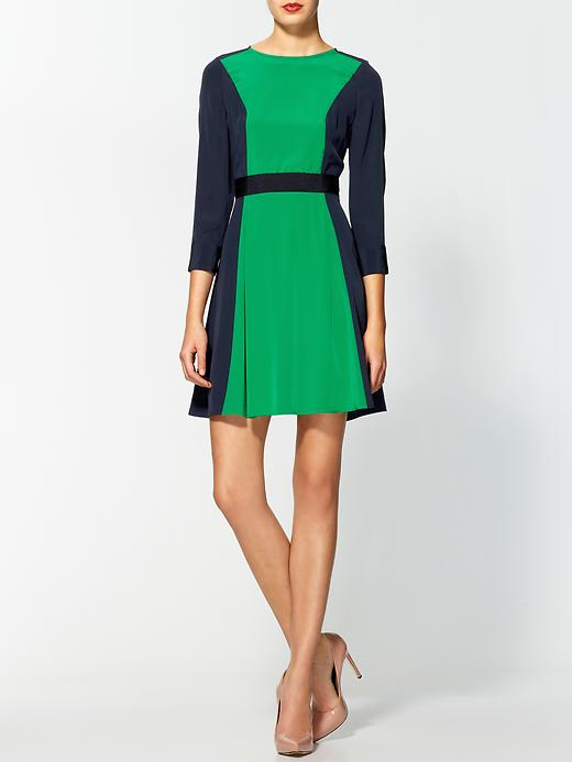 BC - Marc by Marc Jacobs Avery Silk Colorblocked Dress - PiperLime - $398
