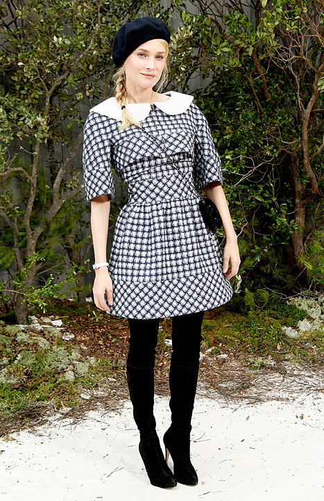 Checks - Diane Kruger - Spring 2013