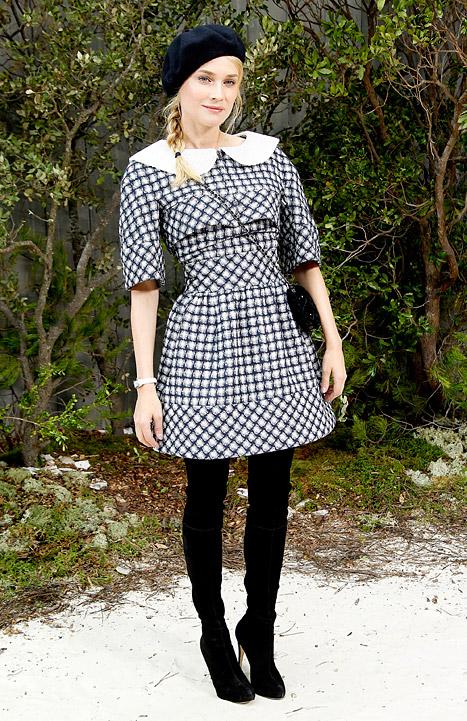 Checks - Diane Kruger - Spring 2013
