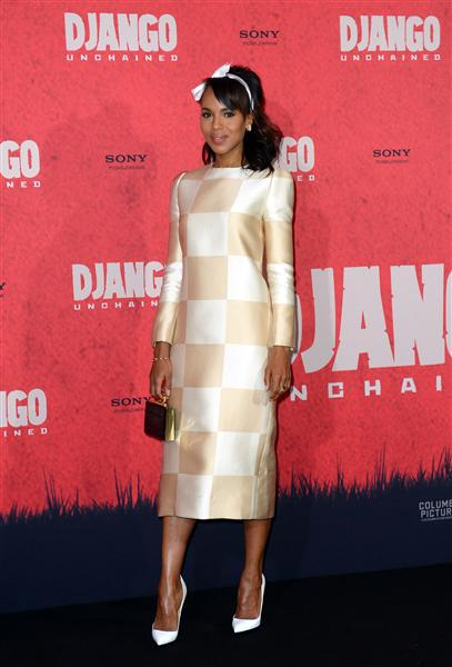 Checks - Kerry Washington - Louis Vuitton