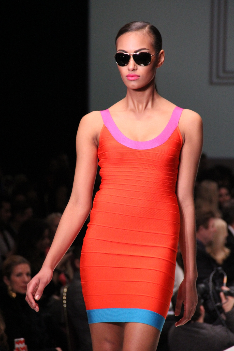 Fashion Houston - Bold Color Orange BCBG