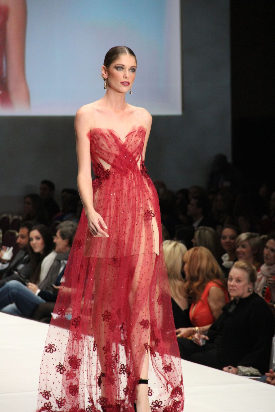Fashion Houston - Raspberry Sheer - Chloe Dao
