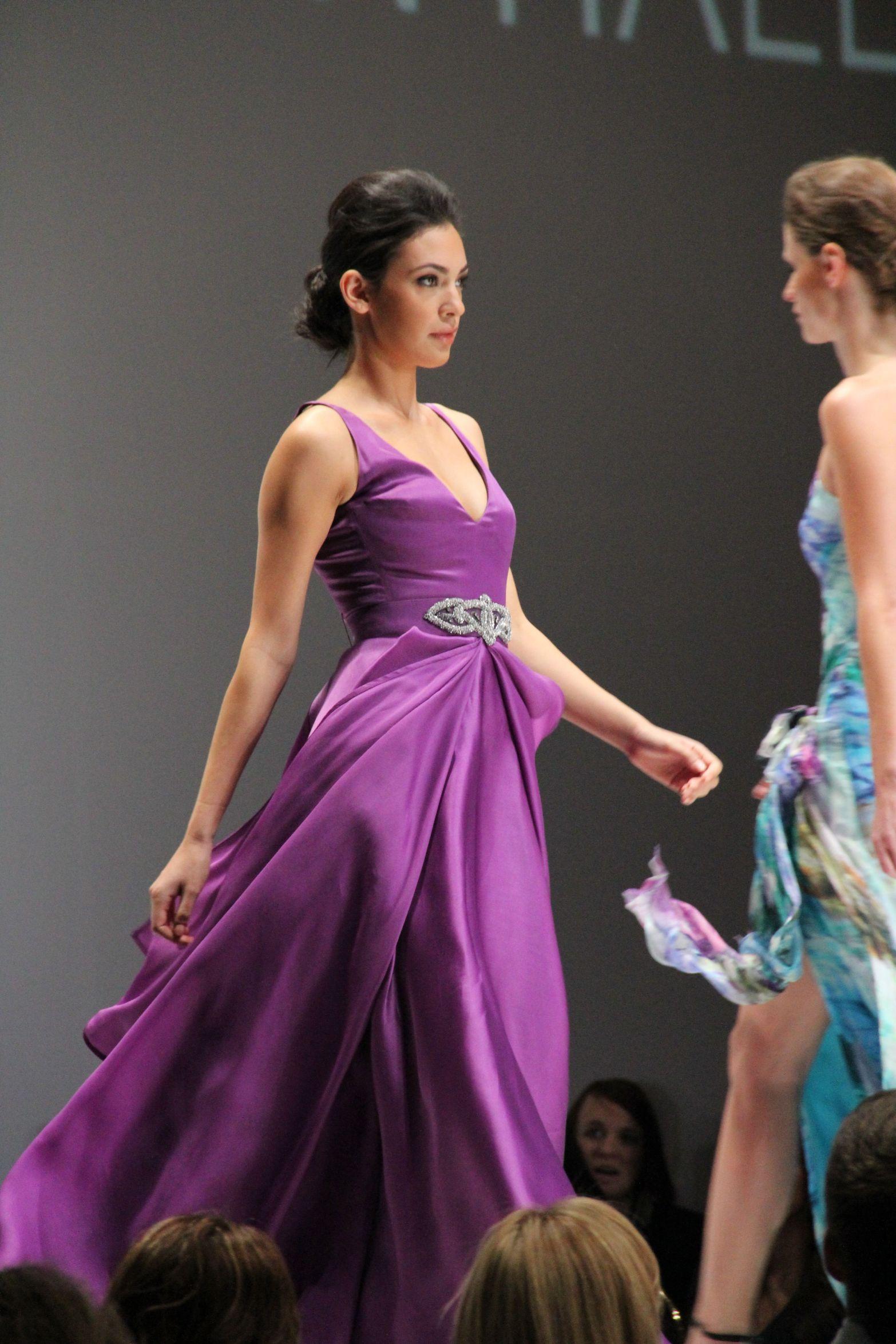 Flowy Purple Dress 2