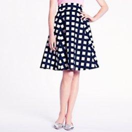 Kate Spade New York - Checkered Sadie Skirt - $298