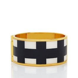 Kate Spade New York - Paper Bangles Check Bangle - $148