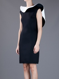 Ruffle Collar Dress - Lanvin