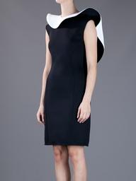 Ruffle Collar Dress - Lanvin