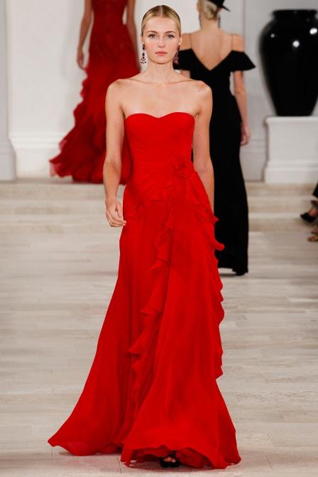 Vogue - Ralph Lauren Ruffles