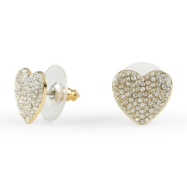 C Wonder Pave Heart Stud Earrings - 28