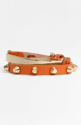 Cara Leather Wrap Bracelet - $38 - Nordstrom