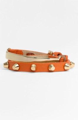 Cara Leather Wrap Bracelet - $38 - Nordstrom