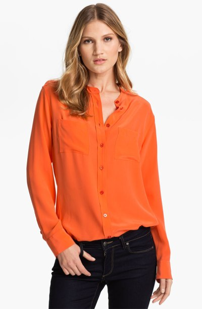 Equipment 'Carmen' Silk Shirt - $218 - Nordstrom