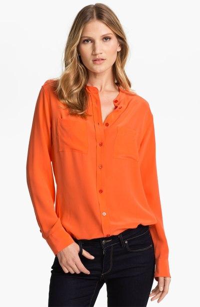 Equipment 'Carmen' Silk Shirt - $218 - Nordstrom