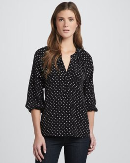 Joie Addie B Polka Dot Top - $228