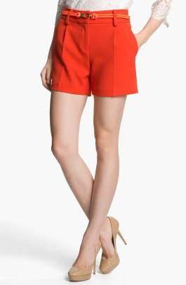 Milly Belted Shorts - $250 - Nordstrom