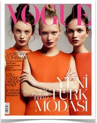 Orange Vogue Cover