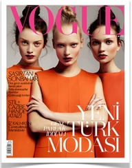 Orange Vogue Cover
