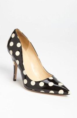 Polka Dot - Kate Spade - 'Licorice Too' Pump - Nordstrom - $298