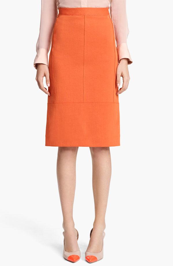 Reed Krakoff Seamed Jersey Skirt - $690 - Nordstrom