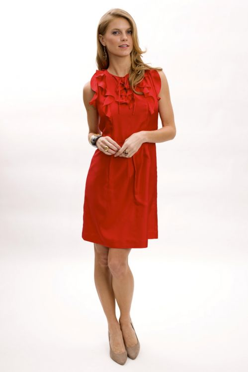 Ruffle Top Dress - $225