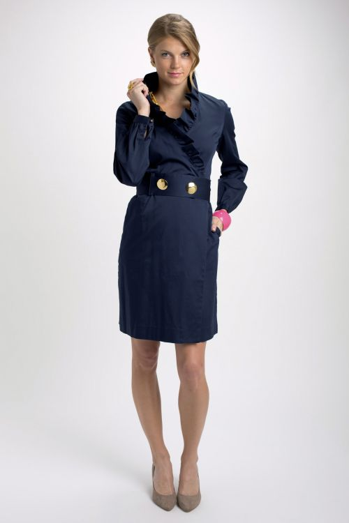 Scotland Wrap Dress Cotton - $275