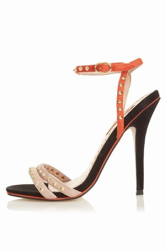 Topshop Orange Heels