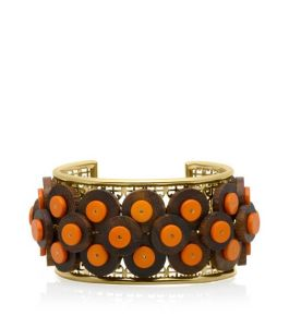 Tory Burch Tribal Paillette Cuff - $195