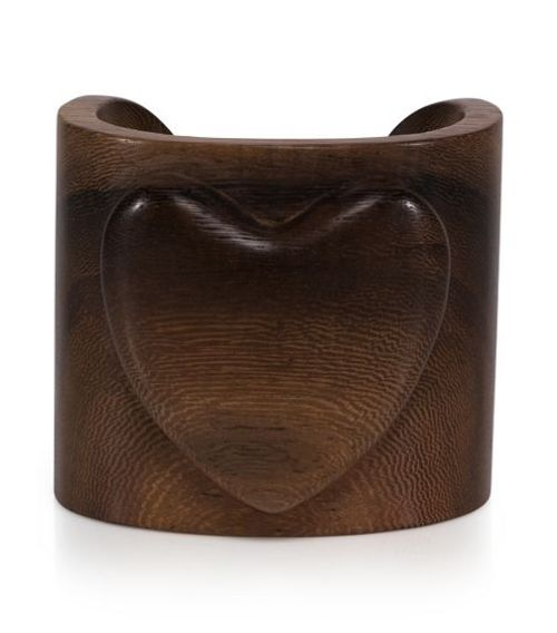 Tory Burch Wooden Heart Cuff - $125