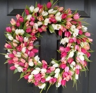 V Wreath - Flowers