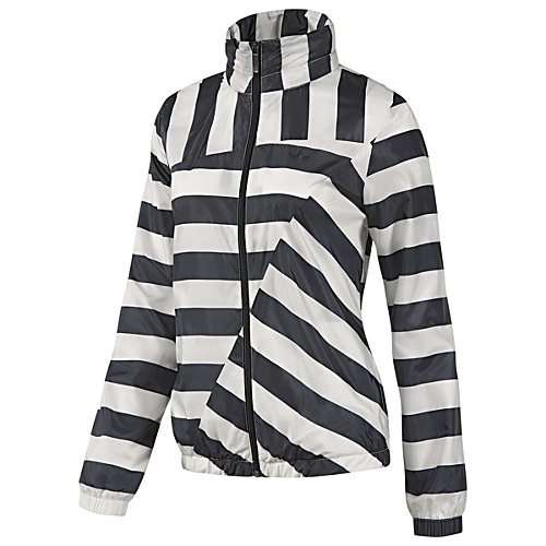Adidas - Striped Windbreaker - $70