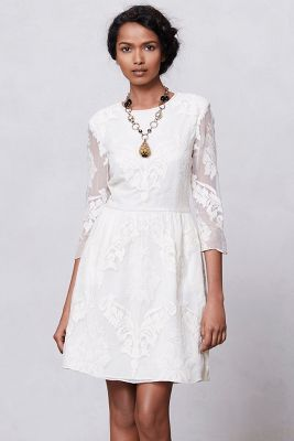 Anthro - Slim-Glint Lace Dress - $228