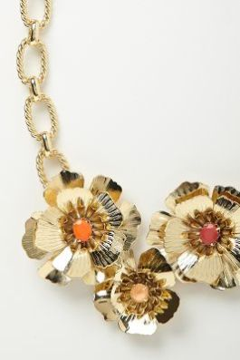 Anthropologie - Captive Flowers Bib - $68