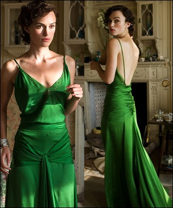 Atonement Emerald Gown