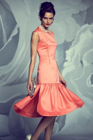BHDLN - Coral Flounce Dress - $1200