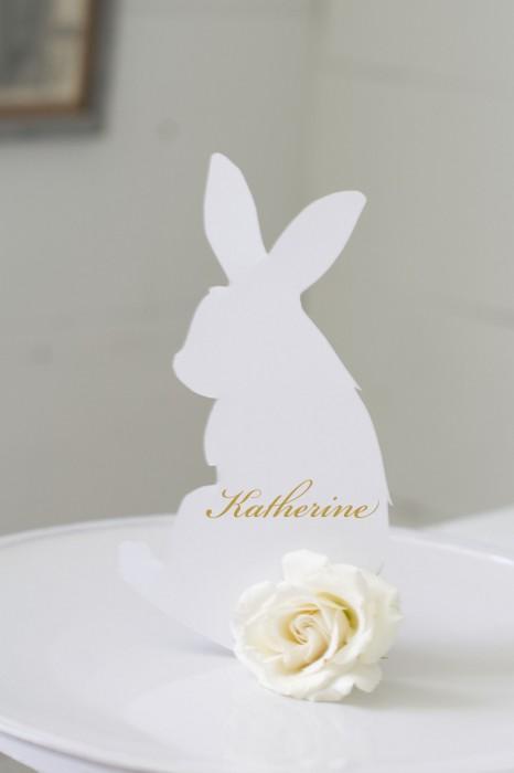 Bunny Name Card