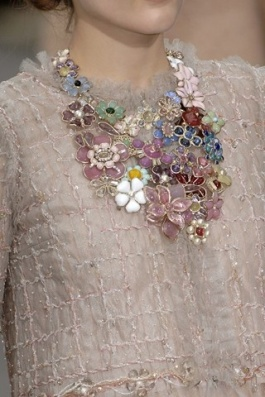 Chanel Floral Necklace