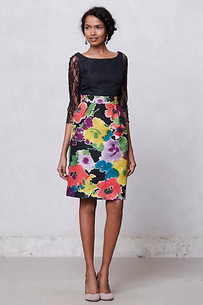 Dark Bloom Dress