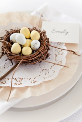 Easter Name Card