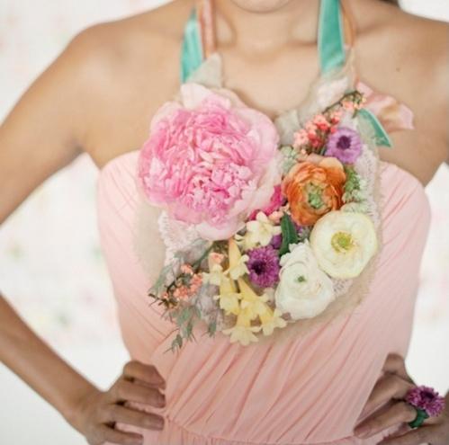 Fresh Floral Necklace