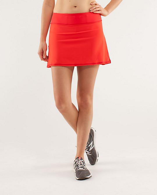Lulu - Run - Pace Setter Skirt - $58