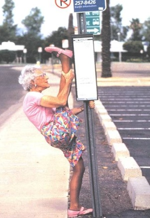 Never Too Old to Exercise