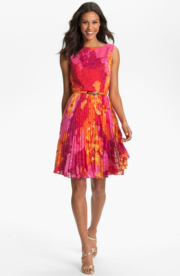 Nordstrom - Adrianna Papell - Print Fit & Flare Dress - $178