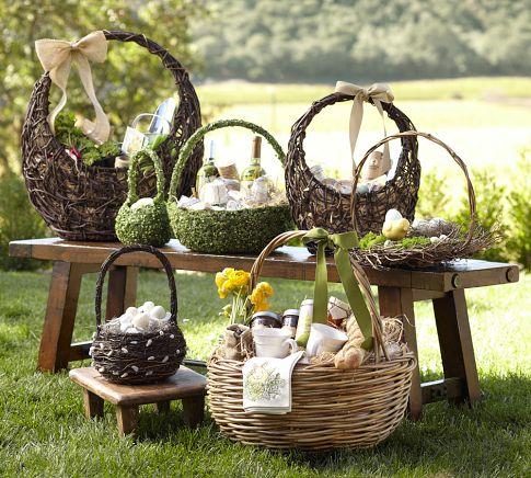 Pottery Barn - Greenvine Baskets - Sale $10.99